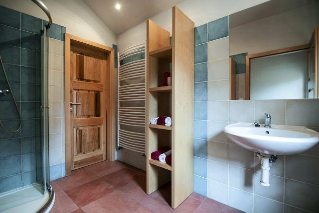 Malý apartmán - koupelna