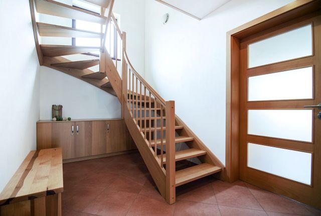 Velký apartmán - schodiště